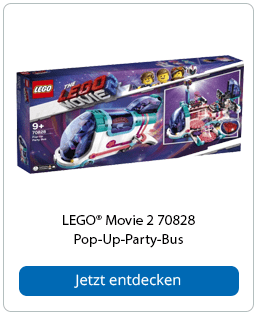 LEGO® Movie 2 70828 Pop-Up-Party-Bus