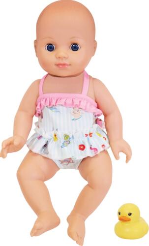 Schildkröt Kids Badepuppe ''Girl'' mit Mini-Ente, ca. 30 cm, ab 10 Monate