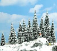 H0 20 Schneetannen