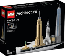 LEGO® Architecture 21028 New York City, 598 Teile