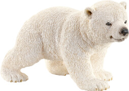 Schleich Wild Life - 14708 Eisbärjunges laufend, ab 3 Jahre