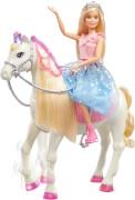 Mattel GML79 Barbie ''Prinzessinnen Abenteuer'' Prance & Shimmer Horse