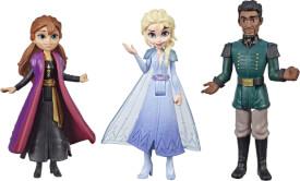 Hasbro E6912ES0 Disney Die Eiskönigin 2 Kleine Puppen Anna, Elsa und Mattias