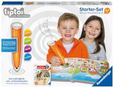 Ravensburger 008049 tiptoi® Starter-Set: Stift und Bauernhof-Buch