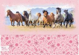 Briefpapier-Set Pferdefreunde