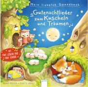 Arena -  Mein liebstes Soundbuch. Gutenachtlieder zum Kuscheln und Träumen. Pappbilderbuch, 12 Seiten, ab 2-4 Jahren. Röhling, H