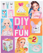 TOPModel DIY Paper Fun Book