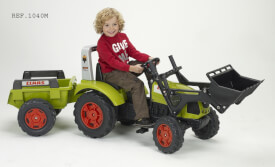 FALK Tret-Traktor Claas + Hänger 3 - 7 Jahre