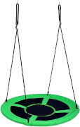 Outdoor active Nestschaukel grün, # 90 cm