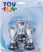 Toy Fun Pokale, 3 Stück, ca. 10 cm