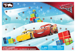 Adventskalender Cars 3 2017