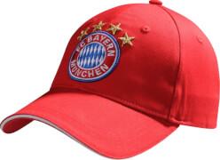 FC Bayern Baseballcap Logo rot Kids