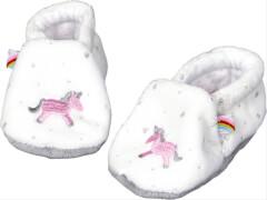 Die Spiegelburg - Babyschuhe Einhorn BabyGlück, one size, ca. 0-6 Monate