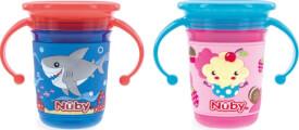 Nuby 360° Trinklerntasse Wonder Cup, 240 ml